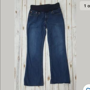 Adriano Goldschmied maternity jeans 32 Angel boot